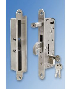 Hybrid Folding Door Lock and Keep Set