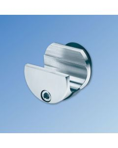 Rail to Glass Bracket