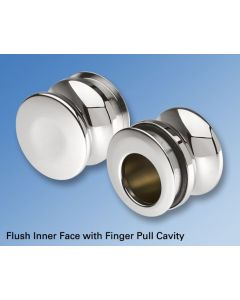 Shower Door Knob and FInger Pull
