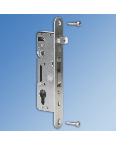 Hybrid Metal Insert Gate Lock