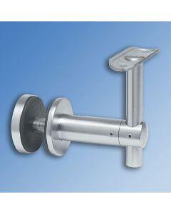 Glass Mount Bracket For Tubular Handrail