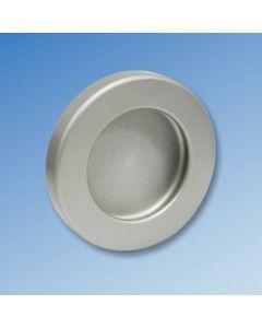 Round Flush Pull Handles - Adhesive Fix - Pair