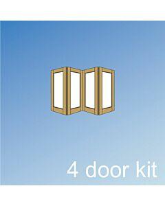 Vistafold 4 Door Kit - Silver, LORI