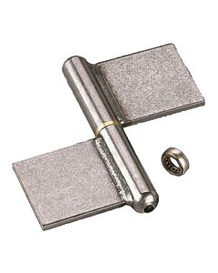 Lift Off Flag Hinges - Mild Steel with Steel Pin and Ball Bearing Washer