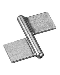 Lift Off Flag Hinges - Stainless Steel with Stainless Steel Pin and Washer