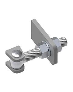 Galvanised Hinge with 2 Way Adjustment