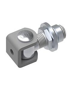 Adjustable Galvanised RHS Hinge with Bracket