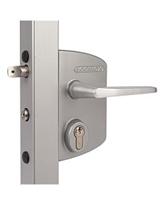 Standard Gate Lock - Silver