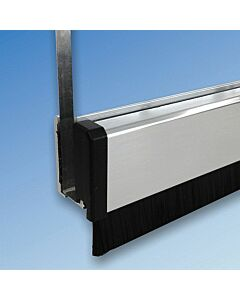 Glass Door Drop Down Brush Seal - Pivot