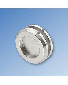 GCC 65mm Round Flush Pull Handles - Adhesive - Pair