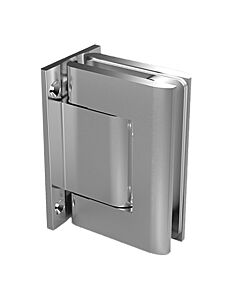 Biloba 8010 BT Glass to Wall Hydraulic Self Closing Hinge - Sauna & Shower