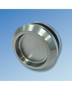 Pair of 50mm Round Flush Pull Handles