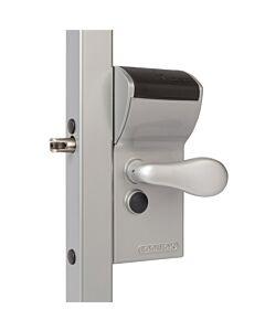 Free Vinci Gate Lock - Silver