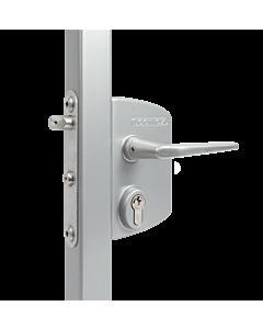 Locinox Gate Lock LPKQ40 U2 Zilv / Ali 1/2 Handle VSZ