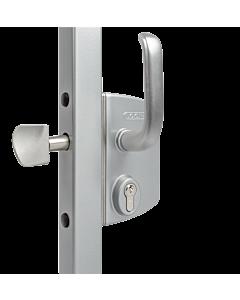 Sliding Gate Lock - Silver