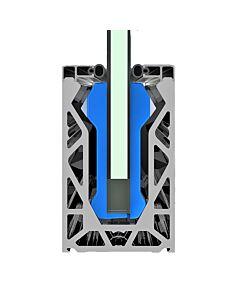 Posiglaze Balustrade System - Side Fix - 3m